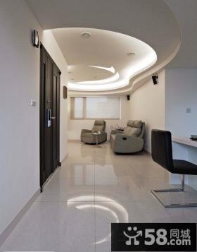 简约风格三室一厅装修效果图片