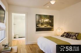 欧式简约风格卧室装修效果图大全2012图片