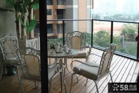 小客厅阳台装修效果图片大全2013图片