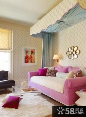 小户型客厅沙发背景墙装修效果图欣赏