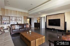 现代美式风格三室一厅设计家装图片