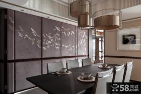 现代日式风格餐厅效果图