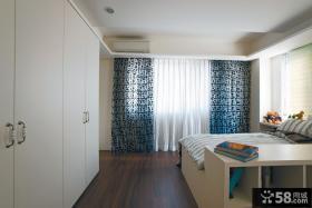 2015现代复式儿童房室内装修效果图