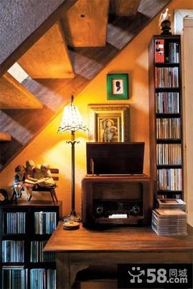 复式楼书房装修效果图大全2013图片