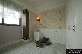 简约欧式风格房间设计实景图