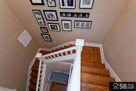 楼梯装饰照片墙