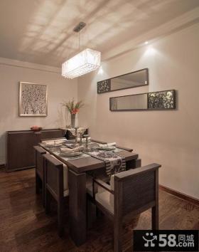 现代时尚温馨家居餐厅设计