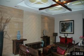 新中式小户型客厅装修效果图大全2013图片