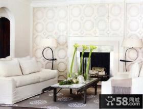 12万打造纯白欧式风格卧室装修效果图大全2014图片