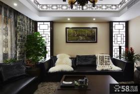 现代中式客厅装饰画图片
