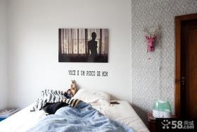 7万打造温馨欧式风格小户型卧室装修效果图大全2014图片