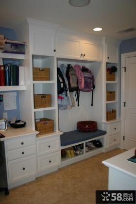 鞋柜玄关装修设计图片