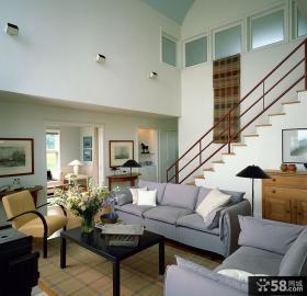 复式现代家装设计效果图