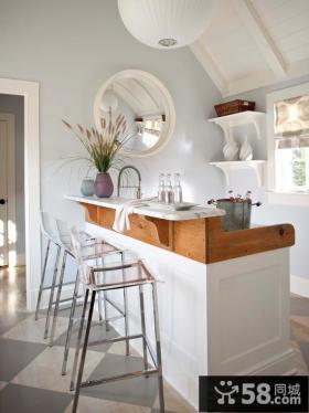 厨房吧台简约吧椅图片
