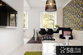 优雅的公寓设计现代风格卧室装修效果图大全2014图片