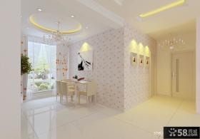 现代风格婚房客厅电视背景墙装修效果图
