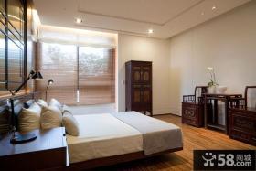新中式古典卧室设计