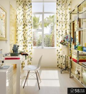地中海卧室窗帘效果图 2012卧室窗帘图片