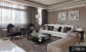 新古典设计风格别墅室内装修效果图大全2014