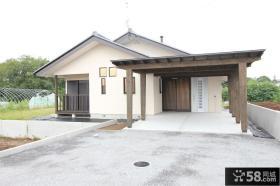 日式风格别墅外观设计图