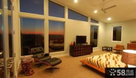 复式楼装修效果图 浪漫卧室欣赏