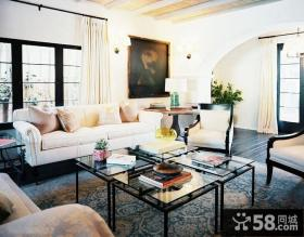 欧式家居客厅图片欣赏