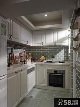 地中海风格家居厨房装修设计图片2014