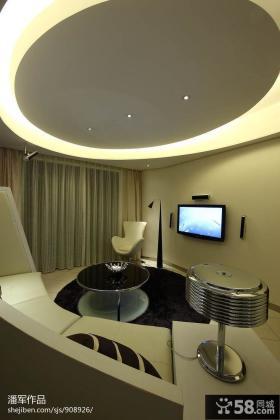 客厅电视墙背景墙造型设计