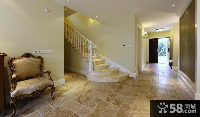 洋房室内地板砖装修图片