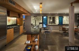 美式风格样板间客厅效果图