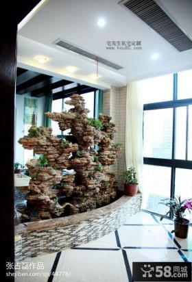 中式风格阳台装修实景图