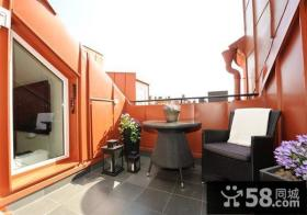 182平米漂亮复式楼阳台装修效果图