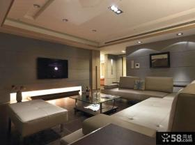 室内现代装修客厅电视背景墙欣赏