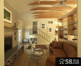 小复式楼客厅装修效果图