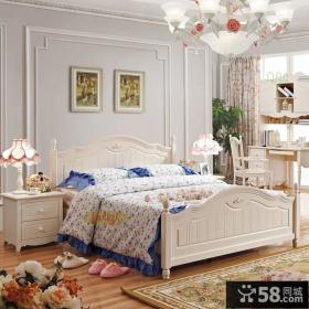 卧室欧式实木家具图片欣赏