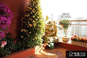 露天阳台花园家庭园艺图片欣赏