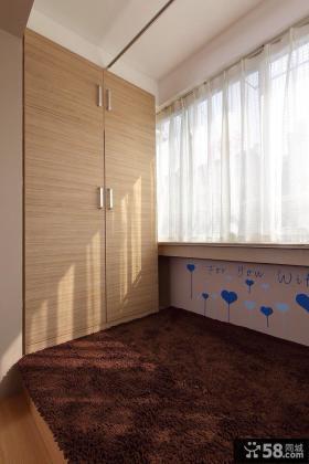 卧室内阳台装修效果图大全2015图片