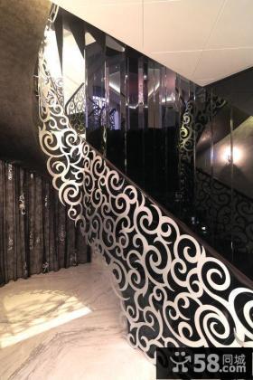 优质欧式房屋室内楼梯装修效果图