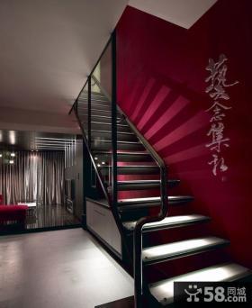 现代美式风格三居室装修图大全