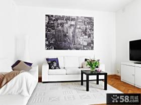95㎡北欧风格复式楼卧室装修效果图大全2012图片