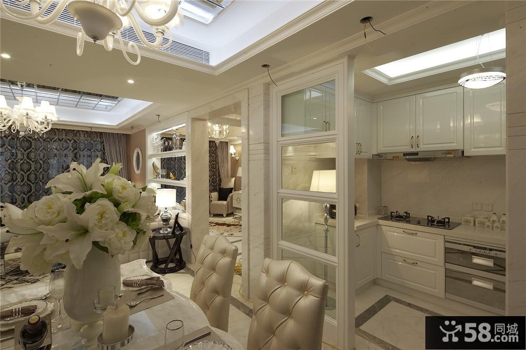 欧式家居风格厨房门装修效果图图片