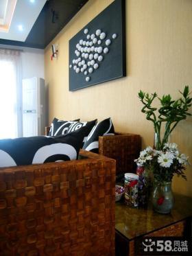客厅沙发装饰画装修效果图