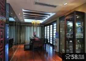 中式风格装修设计餐厅吊顶图片