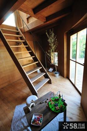 复古装修设计室内楼梯图片大全欣赏