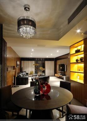现代风格120平米房屋卧室装修效果图
