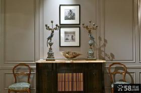 欧式风格别墅室内装饰效果图片