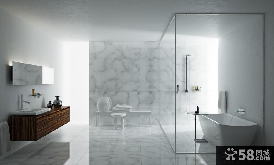 浴室装修效果图大全2015图片