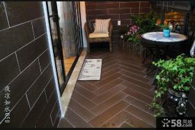 美式阳台瓷砖设计图片