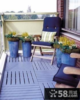 室外阳台设计效果图