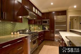 90平米现代风格厨房装修效果图